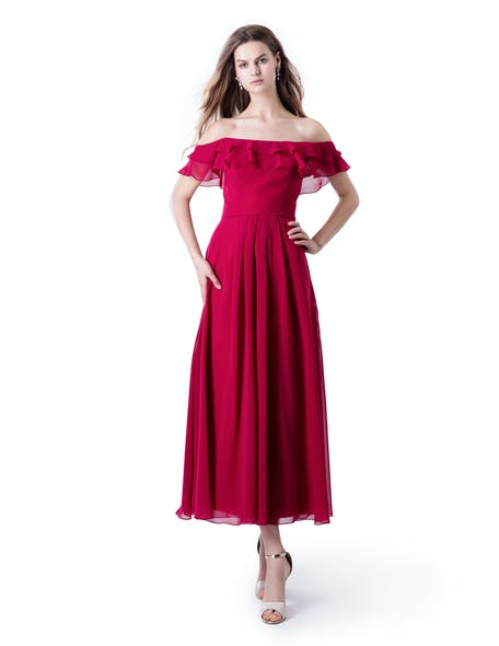 Red Spanish dress